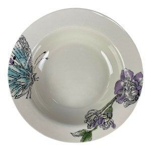 """Edie Rose Home Peacock Soup Bowl 9"""" Replacement"""